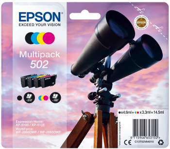 Epson atrament XP-5100 CMYK 14.5ml