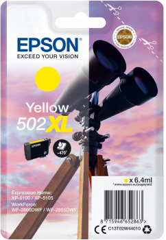 Epson atrament XP-5100 yellow XL 6.4ml - 470 str.