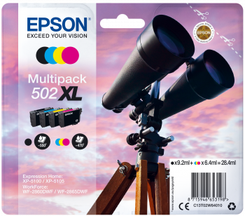 Epson atrament XP-5100 CMYK XL 28.4ml