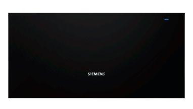SIEMENS_Zabudovateľná ohrevná zásuvka, 30°C - 80°C, 52 l, otváranie push&pull