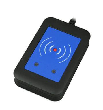 2N IP interkom - externí zabezpečená RFID čtečka 13.56MHz + 125kHz (USB rozhraní)