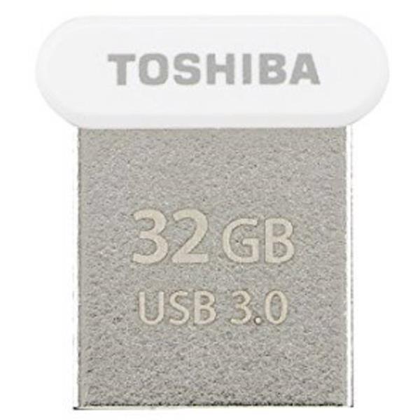 32 GB . USB 3.0 kľúč . TOSHIBA - TransMemory biela