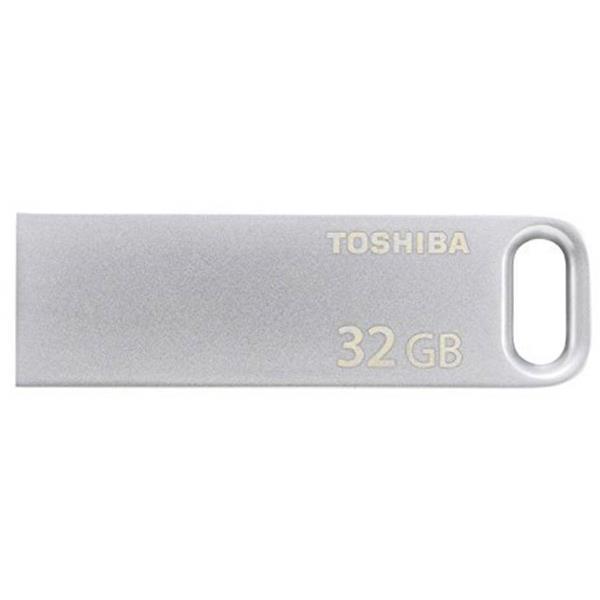32 GB . USB 3.0 kľúč . TOSHIBA - TransMemory strieborná
