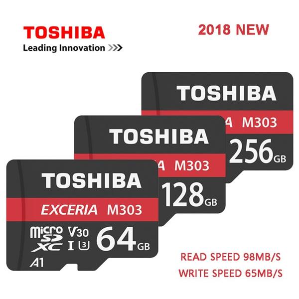 128 GB . microSDXC karta Toshiba Class 10 UHS-I