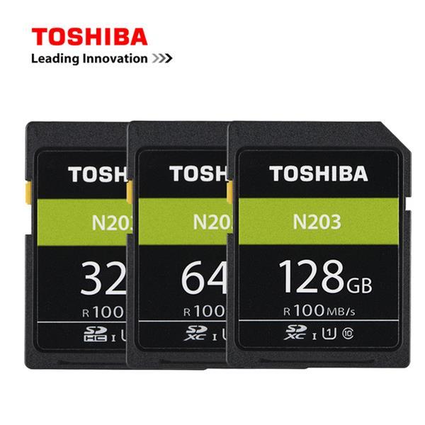 128 GB . SDXC karta Toshiba Class 10 UHS-I