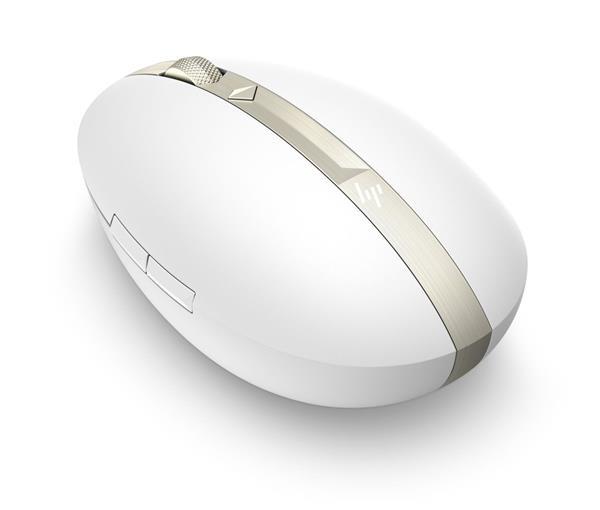 Bezdrôtová nabíjatelná myš HP ENVY 700 - ceramic white