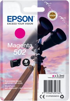 Epson atrament XP-5100 magenta 3.3ml - 165 str.