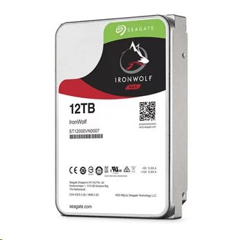 Seagate IronWolf NAS HDD 12TB 7200RPM 256MB SATA 6Gb/s