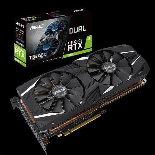 ASUS DUAL-RTX2080TI-11G 11GB/352-bit, GDDR6, HDMI, 3xDP, USB-C