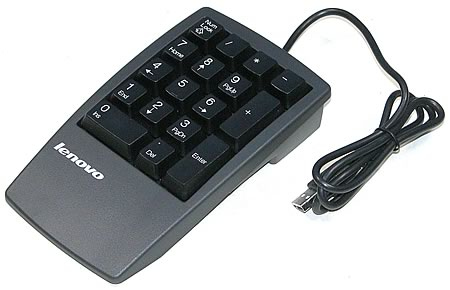 ThinkPad Numeric Keypad USB - Business Black