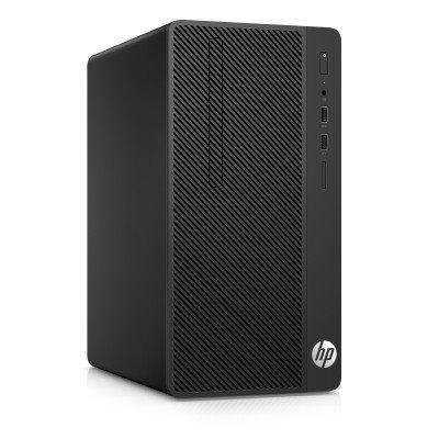 HP 290 G2 MT, i3-8100, 4GB, SSD 128GB, DVDRW, FDOS, 1Y