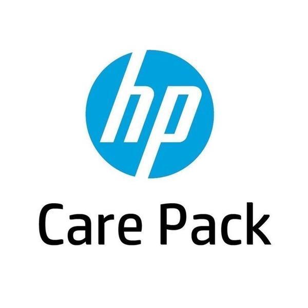 HP Care Pack - Oprava u zákazníka nasledujúci pracovný den, 3 roky + Travel