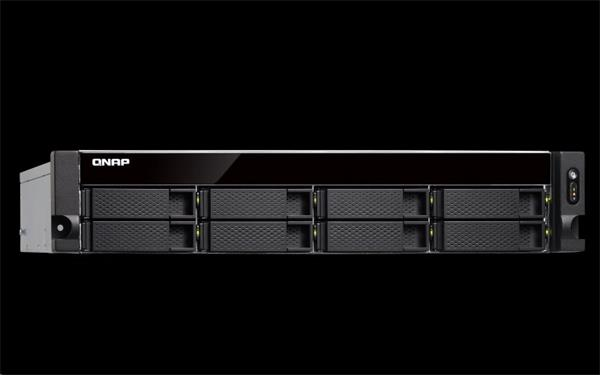 QNAP™ TS-883XU-RP-E2124-8G 8 Bay NAS, 2U rack