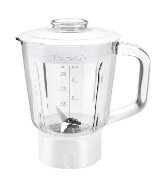 BOSCH_Sklenený mxér: mixuje čerstvé smoothie, seká ľad, rozmixuje krémové horúce polievky a pripraví domácu majonézu