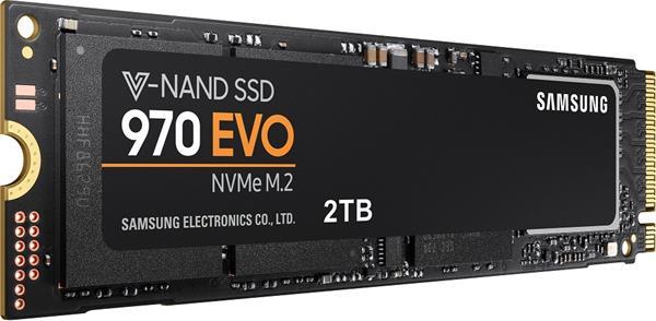 Samsung SSD 970 EVO Plus Series 2TB M.2 PCIe, r3500MB/s, w3300MB/s