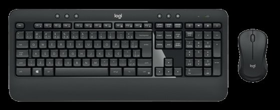 Logitech® MK540 ADVANCED Wireless Keyboard and Mouse Combo, US Int.