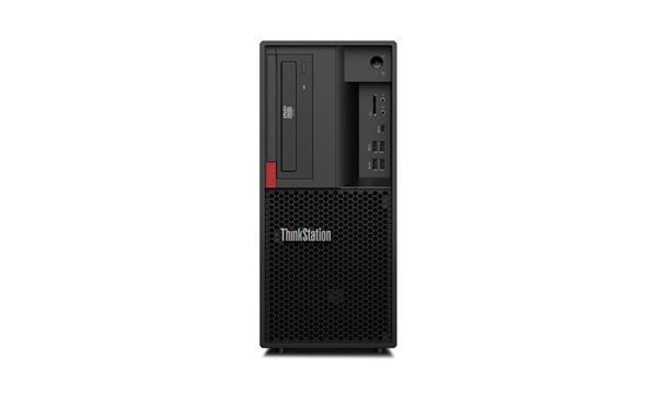 Lenovo TS P330 TWR i7-8700K 4.7GHz UMA 16GB 1TB+256GB SSD DVD W10Pro cierny 3y OS