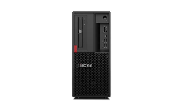 Lenovo TS P330 TWR E-2144G 4.5GHz NVIDIA P1000/4GB 16GB 256GB SSD DVD W10Pro cierny 3y OS
