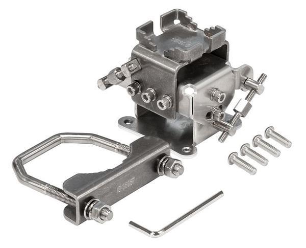 MIKROTIK - SOLIDmount - metalický úchyt s presným nastavením pre LHG