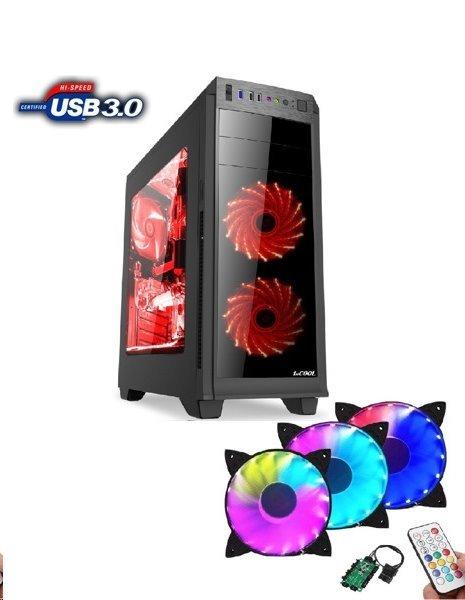 Prestigio Gamer i5-8400 (2,8G) GTX1050Ti 8GB 1TB DVDRW DVI HDMI DP USB3 W10 64bit