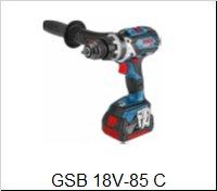 Bosch Príklepový vŕtací skrutkovačGSB 18 V-85 C