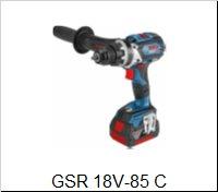 Bosch Vŕtací skrutkovačGSR 18 V-85 C
