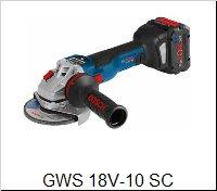 Bosch Uhlová brúskaGWS 18 V-10 SC