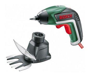 Bosch Aku skrutkovač + záhradný nástavecIXO V - Garden Set