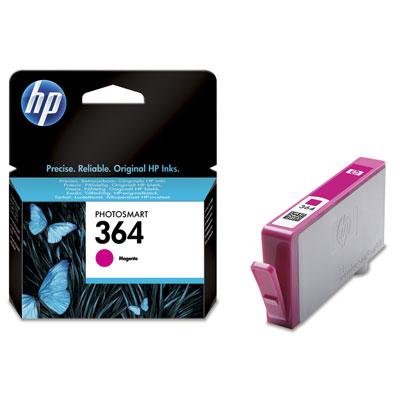 HP 364 Magenta Inkjet Print Cartridge - po záruke 100% funkčné