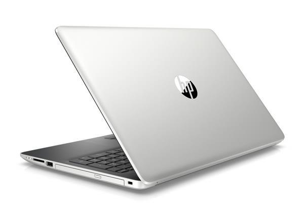 HP 15-da1007nc, i5-8265U, 15.6 FHD/SVA, MX130/4GB, 8GB, SSD 256GB, DVDRW, W10, 2/2/0, Natural silver