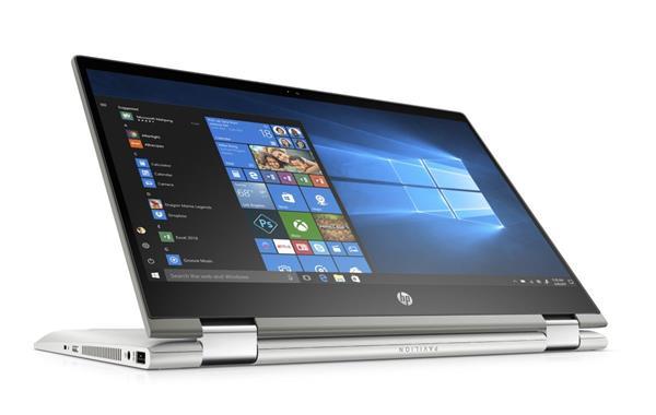 HP Pavilion x360 14-cd1001nc, i5-8265U, 14.0 FHD/IPS/Touch, 8GB, SSD 256GB, W10, 2Y, Mineral silver