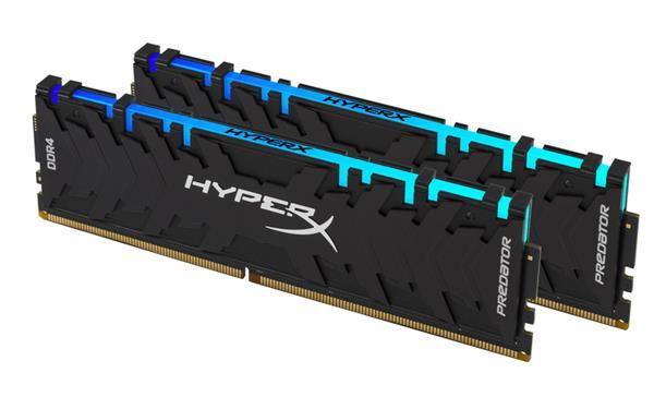 DDR 4.... 16GB . 3000MHz. CL15 HyperX Predator RGB Kingston XMP (2x8GB)