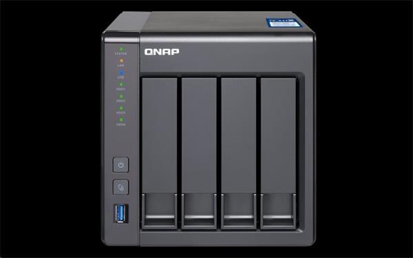 QNAP™TS-431X-2G 4 Bay NAS, 3.5, Alpine AL-212, 2-core,1.7GHz 2GB DDR3 RAM,10Gb SFP+