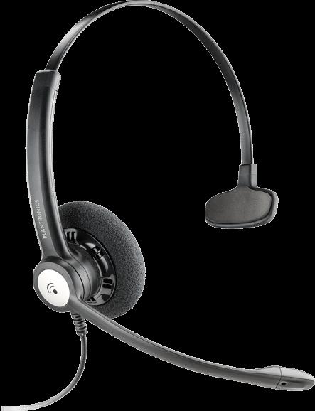 Plantronics ENTERA HW111 N/A náhlavná súprava na jedno ucho so sponou