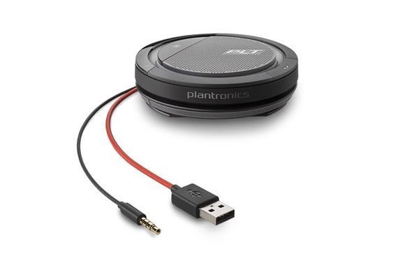 Plantronics CALISTO 5200, USB-A+3.5mm, konferenčné zariadenie, čierne