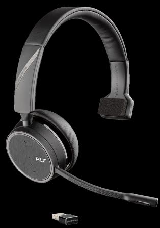 Plantronics VOYAGER 4210 UC, USB-A, Bluetooth náhlavná súprava na jedno ucho