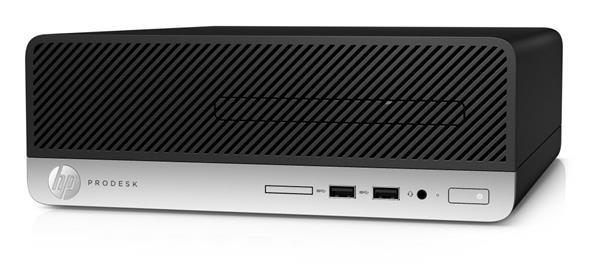 HP ProDesk 400 G5 SFF, i5-8600, 8GB, SSD 256GB, DVDRW, W10Pro, 1Y
