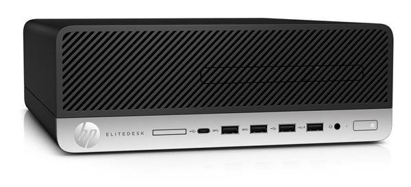 HP EliteDesk 705 G4 SFF, R5Pro-2600, R7 430/2GB, 8GB, SSD 256GB, DVDRW, W10Pro, 3Y