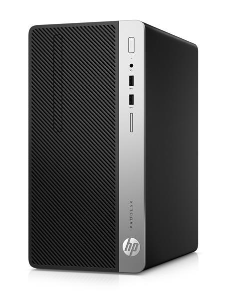 HP ProDesk 400 G5 MT, i3-8100, 8GB, 1TB, DVDRW, W10Pro, 1Y