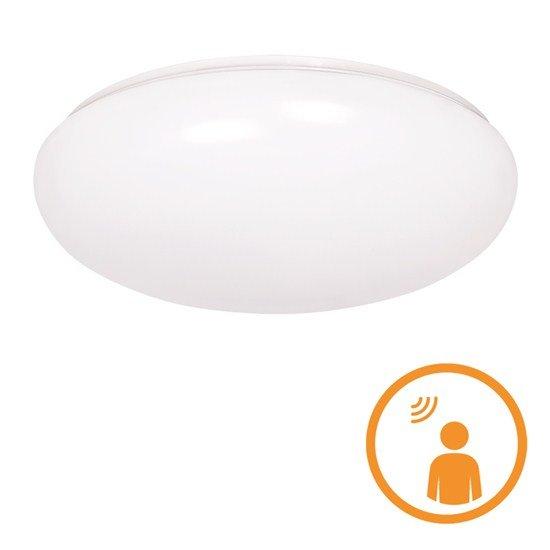 Solight LED vonkajšie osvetlenie so senzorom, prisadené, 18W, 1260lm, IP44, 4100K, 40cm