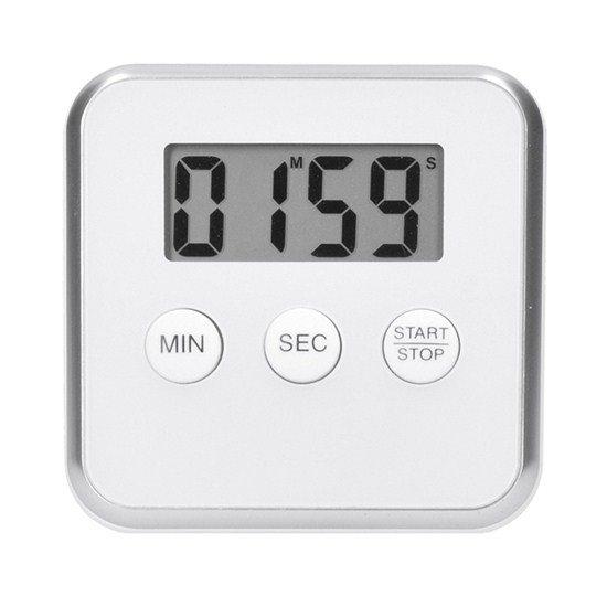 Solight digitálna kuchynská minútka, odpočítanie alebo pripočítania času, biela farba, magnet pre prichytenie