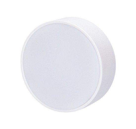 Solight LED panel s tenkým rámčekom, 16W, 1280lm, 3000K, prisadený, okrúhly, biely