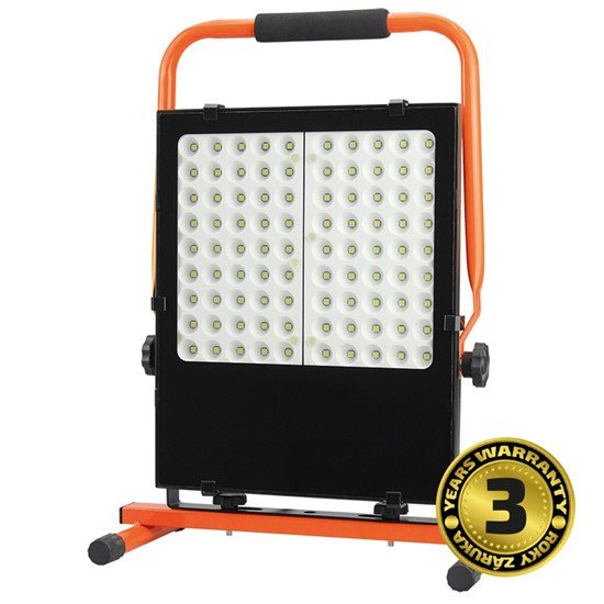 Solight LED vonkajší reflektor so stojanom, 100W, 8500lm, kábel so zástrčkou, AC 230V