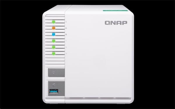 QNAP™ TS-328-EU 3 Bay NAS, 3.5, Realtek RTD1296 1.4 GHz Quad-core, DDR4 2G