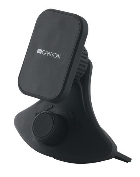 Canyon CNE-CCHM8 magnetický držiak pre smartfóny s uchytením do zásuvky CD prehrávača automobilu