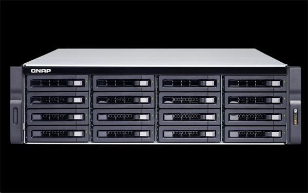 QNAP™ TS-1683XU-RP-E2124-16G 16 Bay NAS, quad-core 3.3 GHz, 16GB DDR4 RAM, EU Edition
