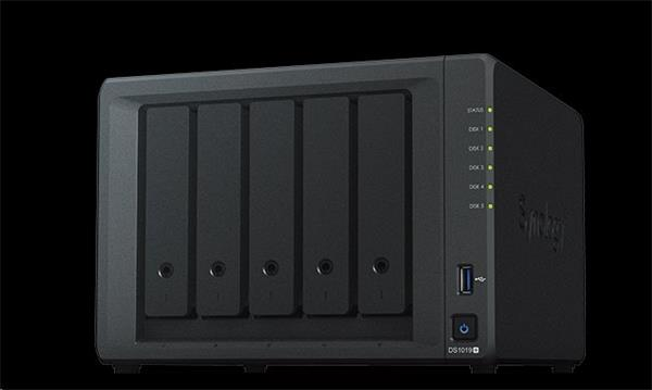 Synology™ DiskStation DS1019+ 5x HDD NAS 8GB RAM