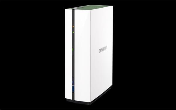 QNAP™ TS-128A 1 Bay NAS, 3.5, Realtek RTD129 1.4 GHz Quad-core, DDR4 1G