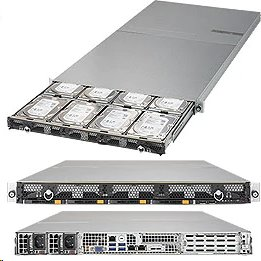 Supermicro Storage Server SSG-6019P-ACR12L 1U DP