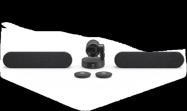 Logitech Logitech Rally Plus Ultra-HD ConferenceCam - BLACK - USB